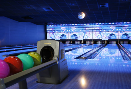 bowling patinoire laser-game